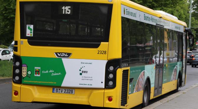 BVG Bus Linie 115