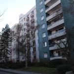Häuserzeile 19 bis 19c in der Hilburghauser Str.