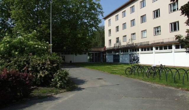 Besichtigung des Notaufnahmelagers Marienfelde