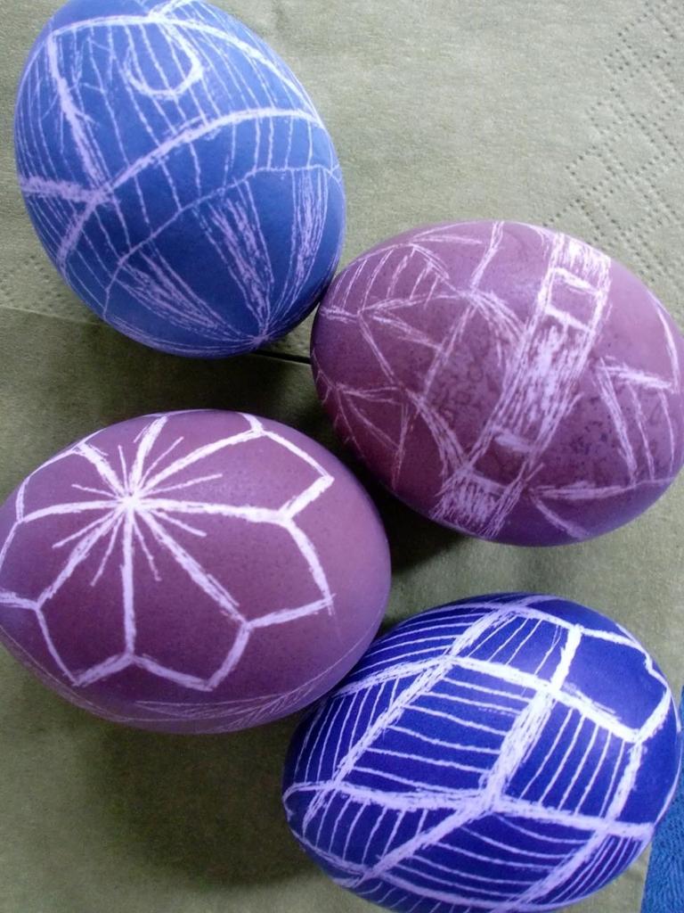 vier Ostereier