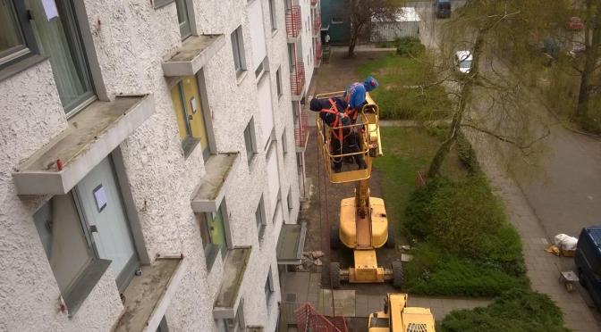 Die Sanierungsarbeiten im BT20 haben begonnen