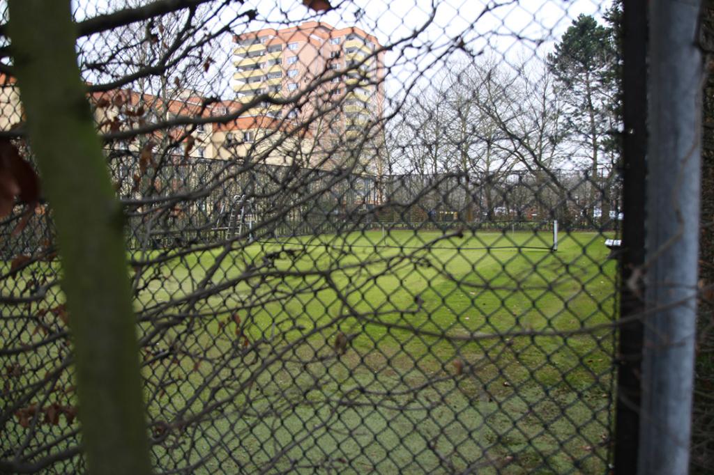 Der Tennisplatz unserer Mitglieder am Lichterfelder Ring