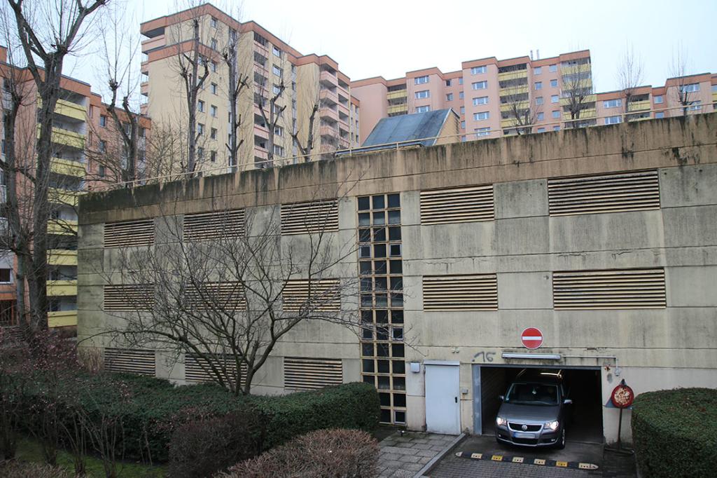 Parkhaus im Bauteil 22