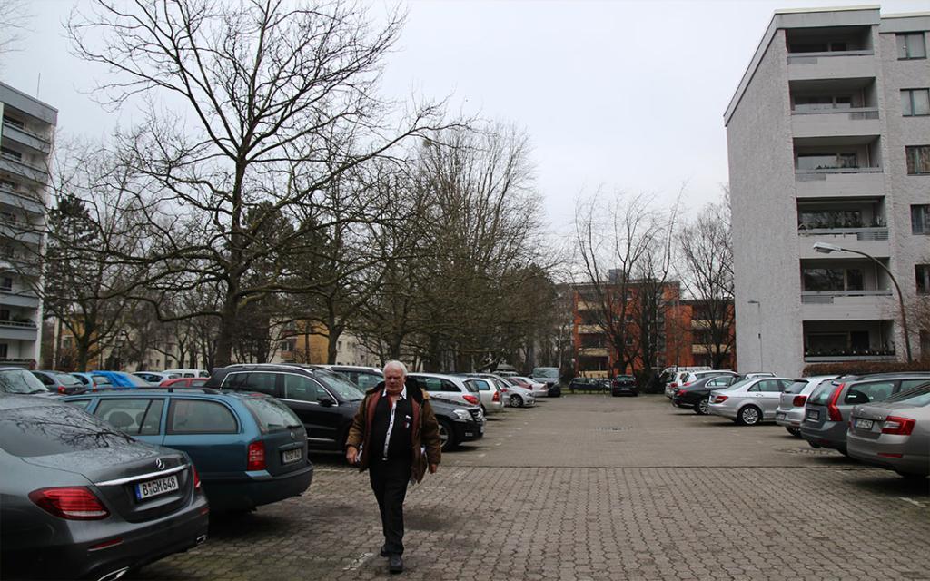 Parkplatz Bauteil 20