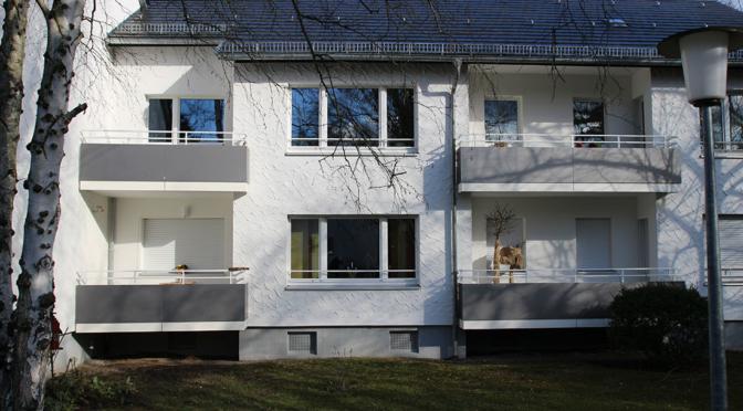 Balkon-Sanierung im Bauteil 15